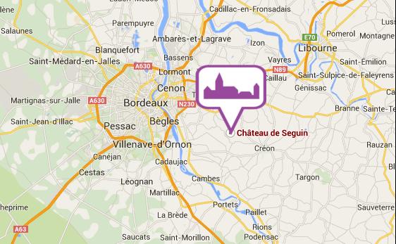 Location château Bordeaux - Gîte de Seguin Bordeaux